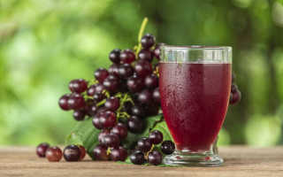 Натуральный виноградный сок польза и вред. Сок из винограда: польза и вред, простые рецепты