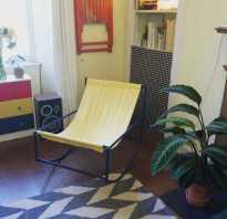 Кресло качалка из металла чертежи. Как из металла своими руками сделать кресло-качалку (размеры, чертежи, фото)