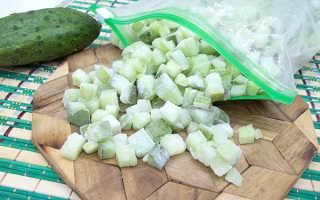 Что можно приготовить из замороженного огурца. Салат Из Замороженных Огурцов