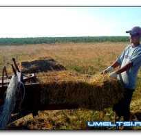 Пресс для травы своими руками. Пресс для сена своими руками-от простого до сложного