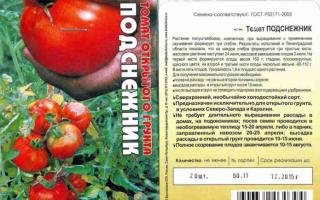 Помидор подснежник описание. Внушительные урожаи при любом климате — томат Подснежник: характеристики сорта и описание