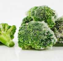 Размороженный брокколи. Как приготовить замороженную брокколи