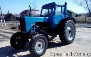 Трактор мтз 82 вес. Надёжный и универсальный МТЗ-82