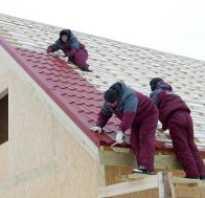 Накрыть крышу металлочерепицей своими руками видео. Как покрыть крышу металлочерепицей своими руками