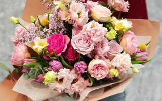Какой букет цветов подарить девушке в Запорожье?