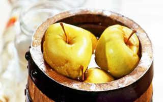 Моченые яблоки богатырь. Яблоки моченые: 4 рецепта домашнего приготовления