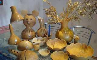 Поделки из лагенарии на выставку. Поделки из тыквы своими руками в школу и детский сад (147 фотоидей внутри)